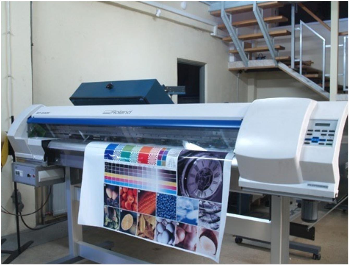 Plotter Roland Impresión y Corte